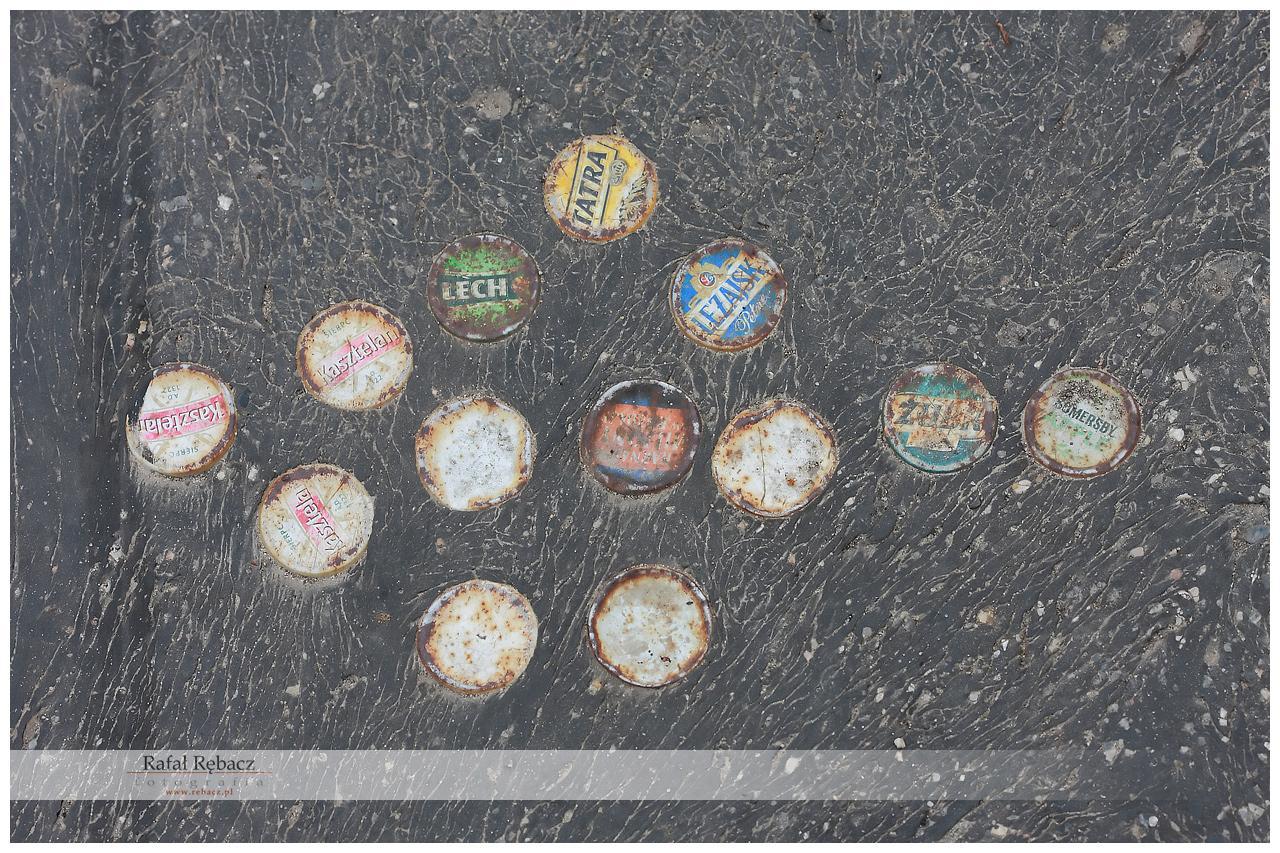 Street art – pod nogami