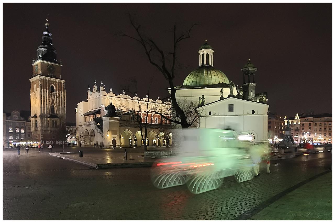 Nocą po Krakowie